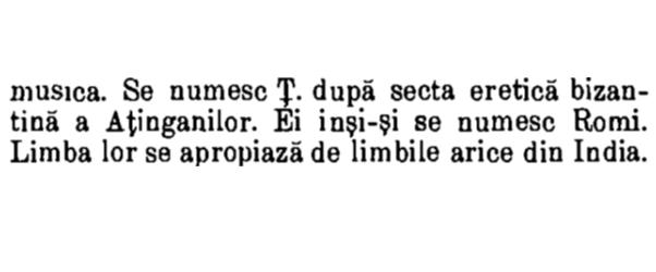 Enciclopedia Română, Tomul III, Sibiu, 1904, de Dr. C. Diaconovich, p. 1095